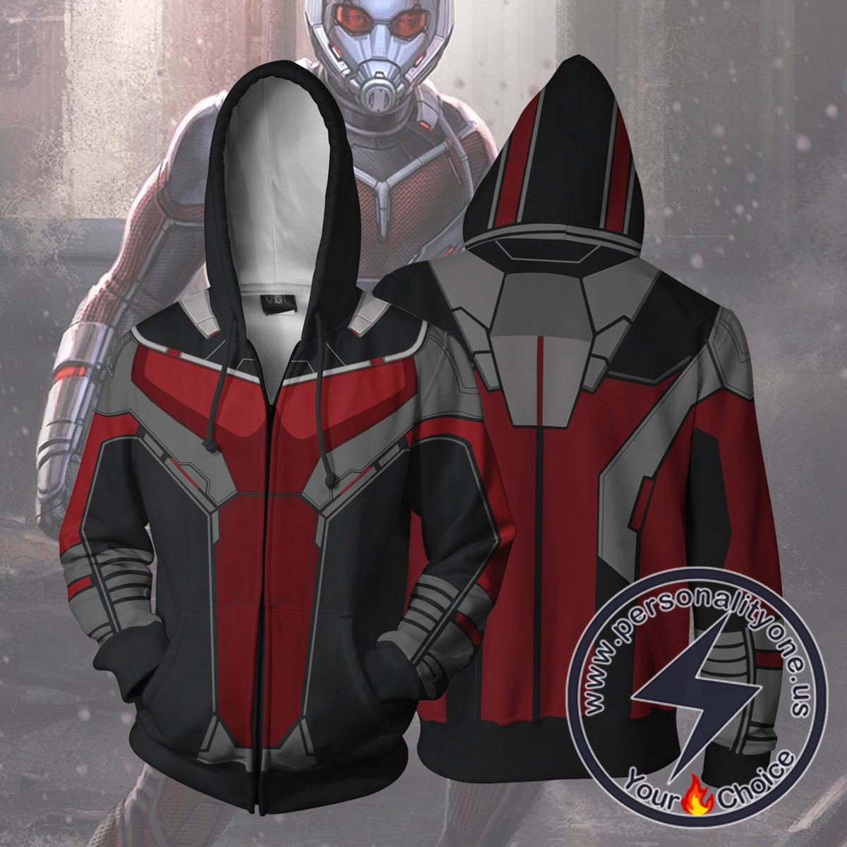 Avengers Hoodie - Ant-Man Civil War Jacket