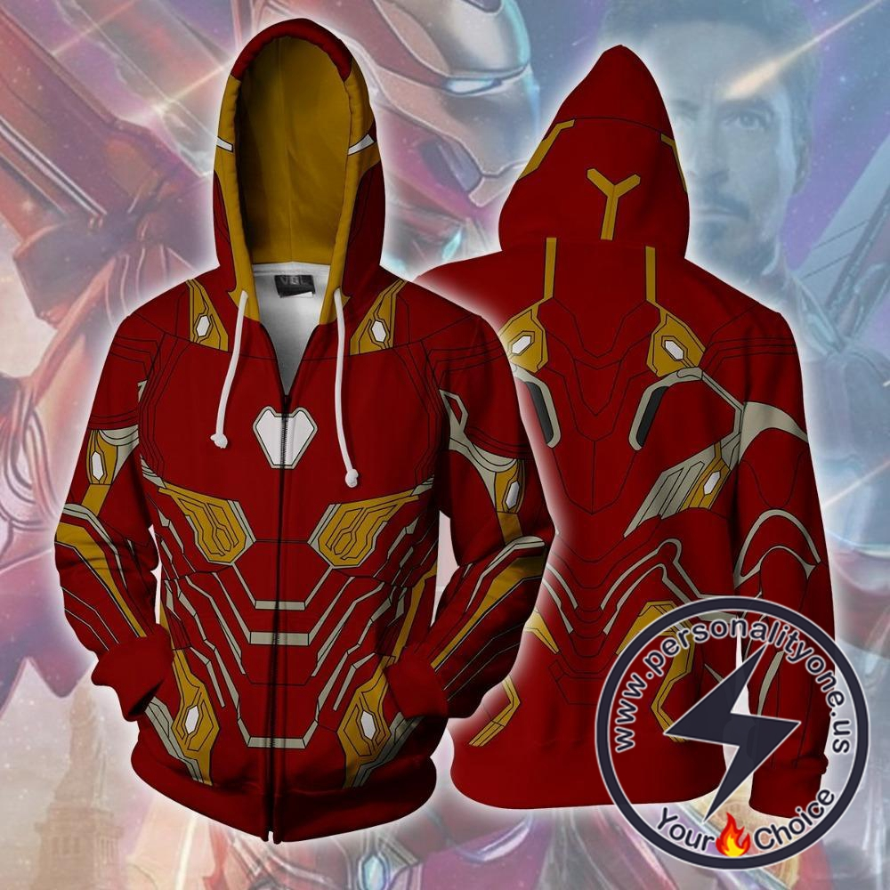 Avengers Hoodie - Iron Man Mark 50 Jacket