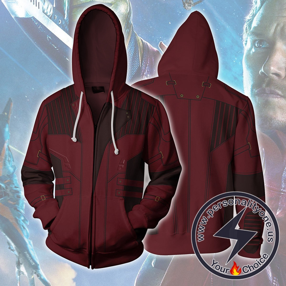 Avengers Infinity War Hoodie - Star Lord Jacket