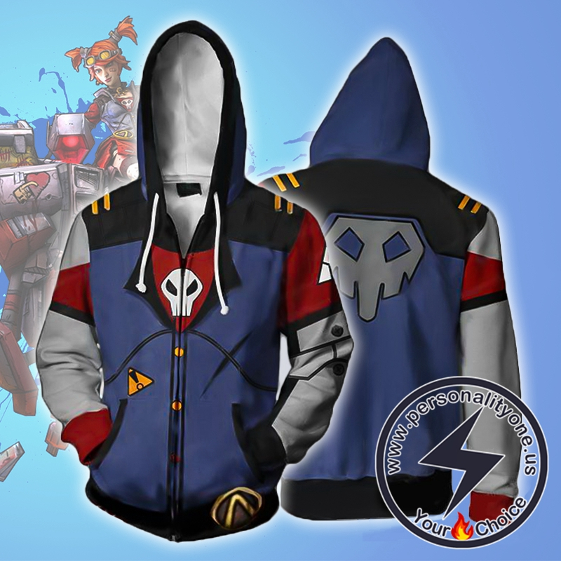 Borderlands 2 Gaige Zip Up Hoodie Jacket