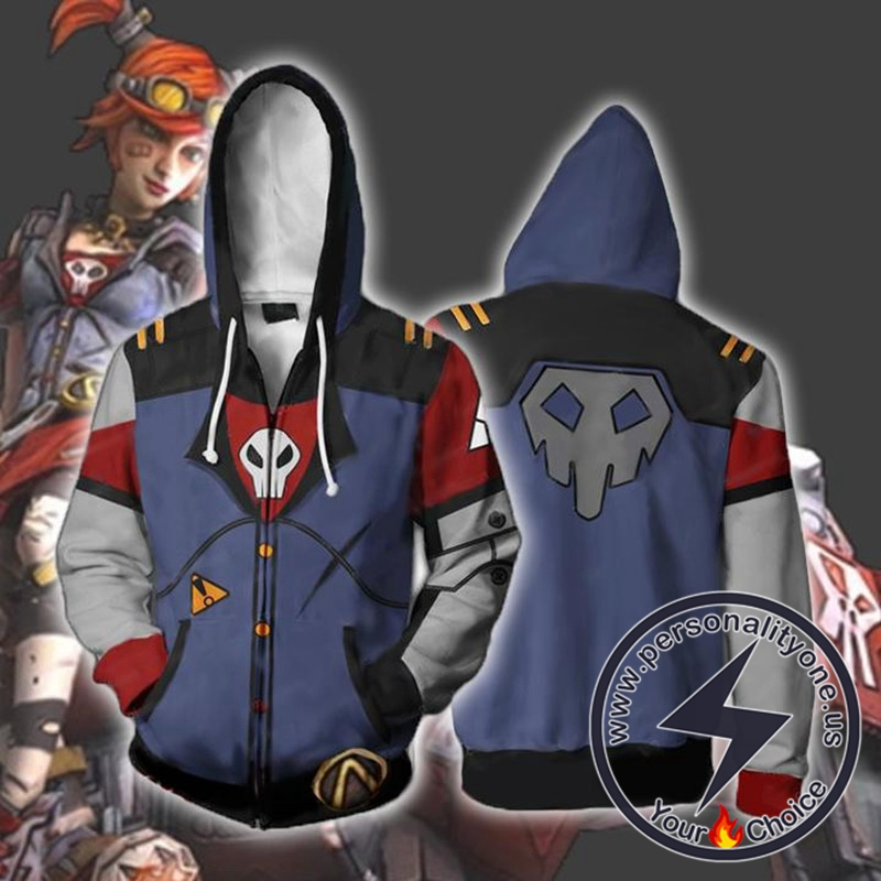 Borderlands Hoodies - Borderlands 2 Gaige Zip Up Hoodie Jacket