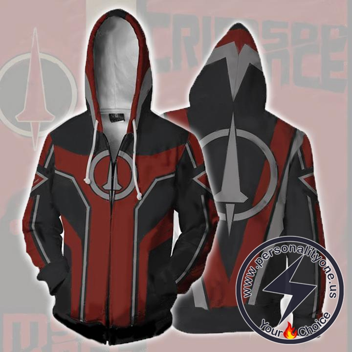 Borderlands Hoodies - Borderlands Crimson Lance Zip Up Hoodie Jacket