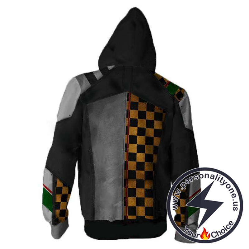 Borderlands Hoodies - Borderlands Torgue V2 Zip Up Hoodie Jacket