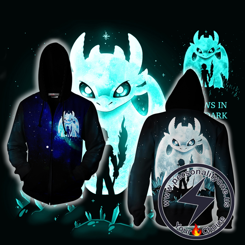 How To Train Dragon Zip Up Hoodie