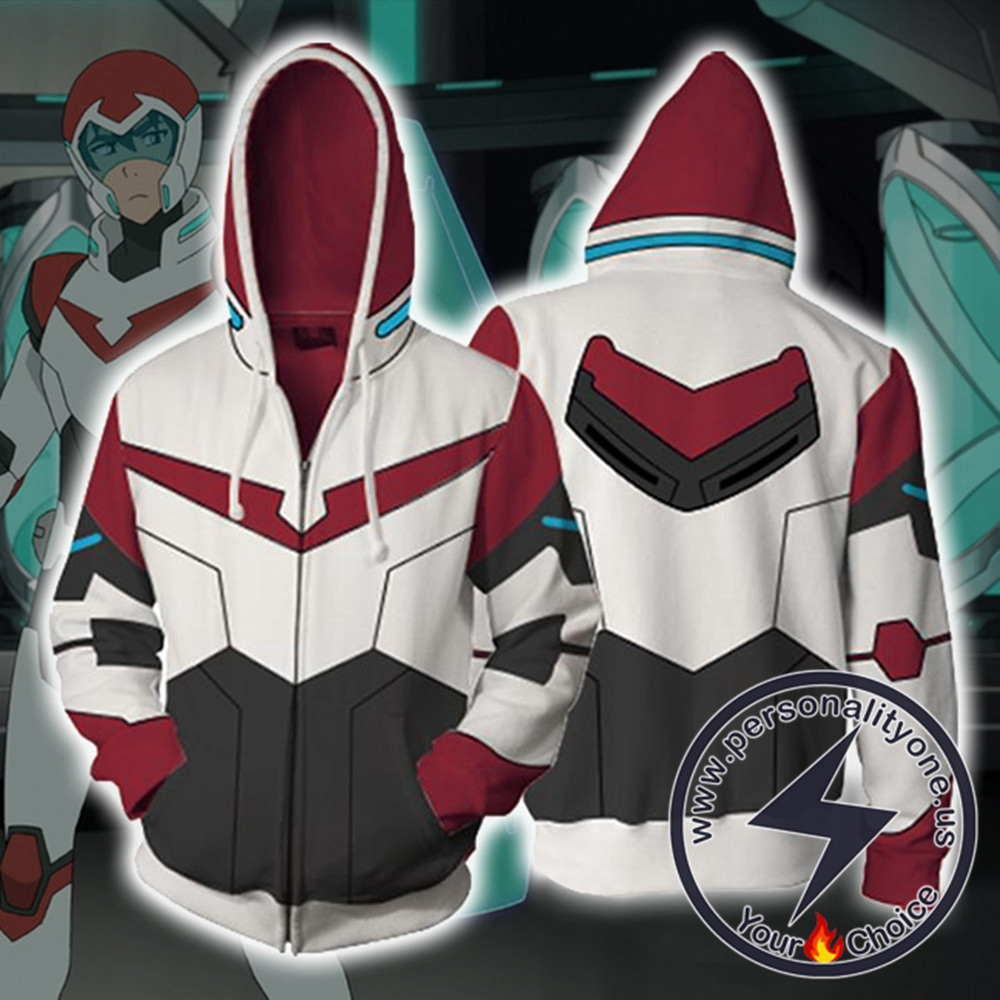Keith Voltron Legendary Defender Paladin Hoodie Jacket