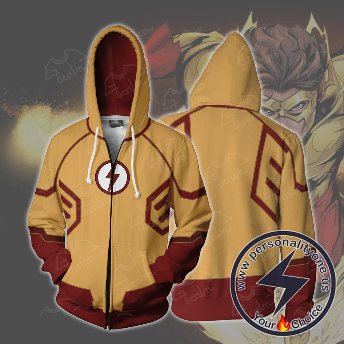 Kid Flash Hoodie Jacket