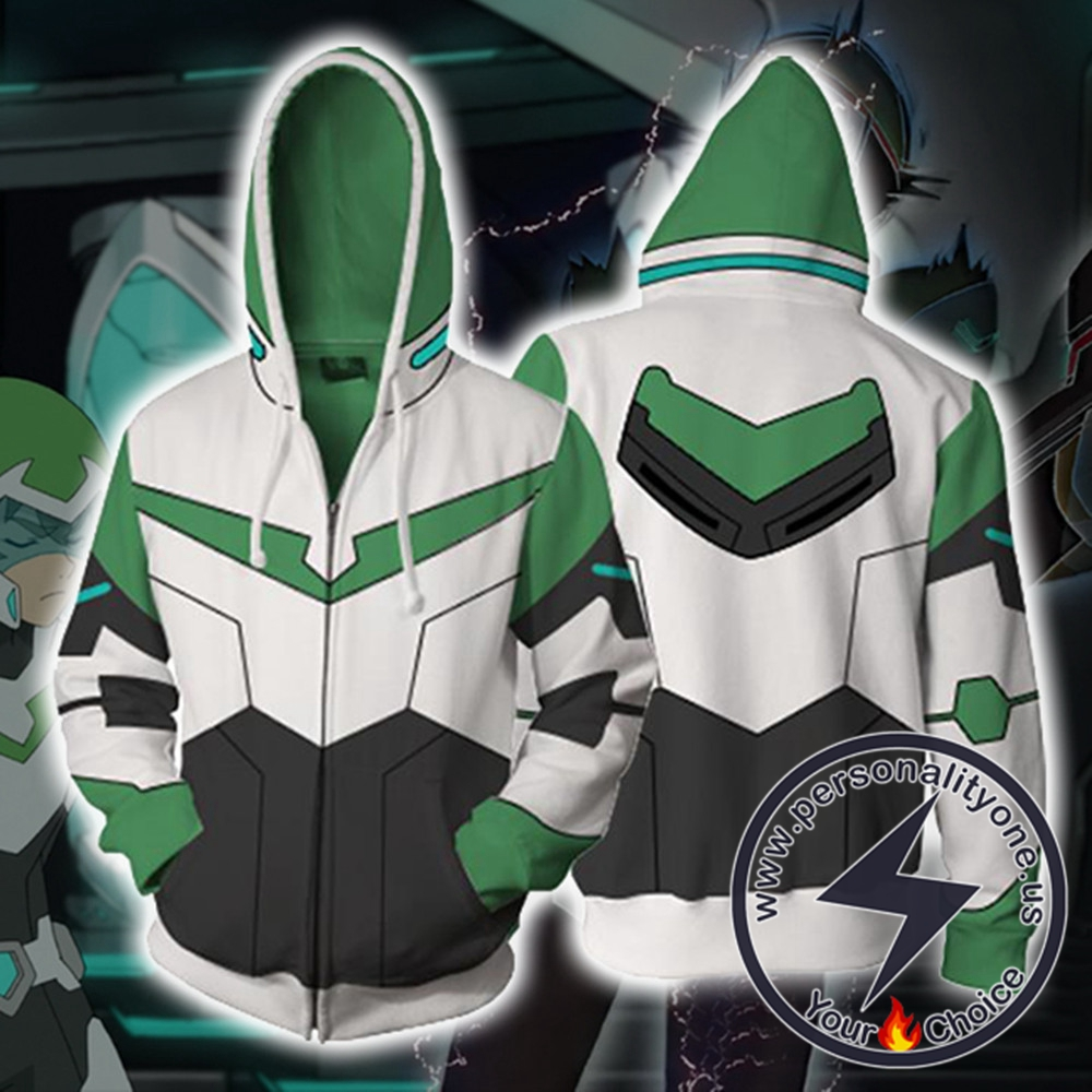 Pidge Voltron Legendary Defender Paladin Hoodie Jacket