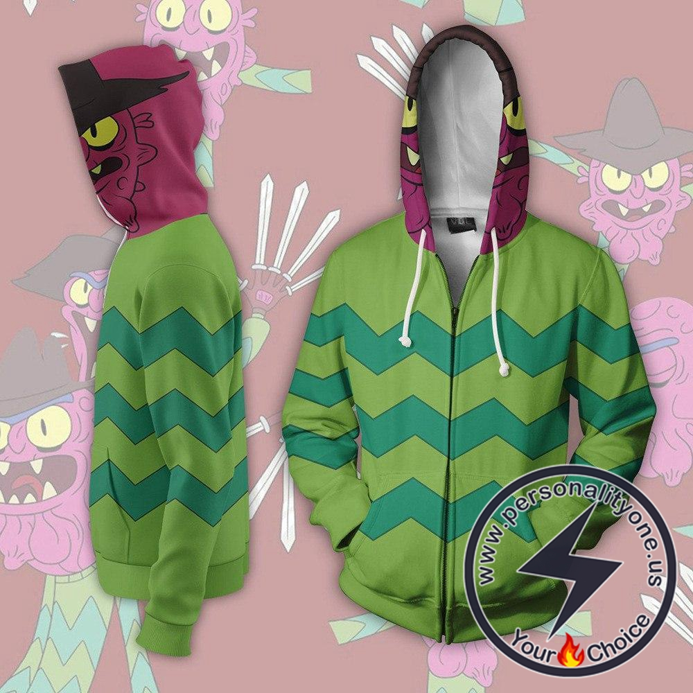Rick and Morty Hoodie - Scary Terry Jacket