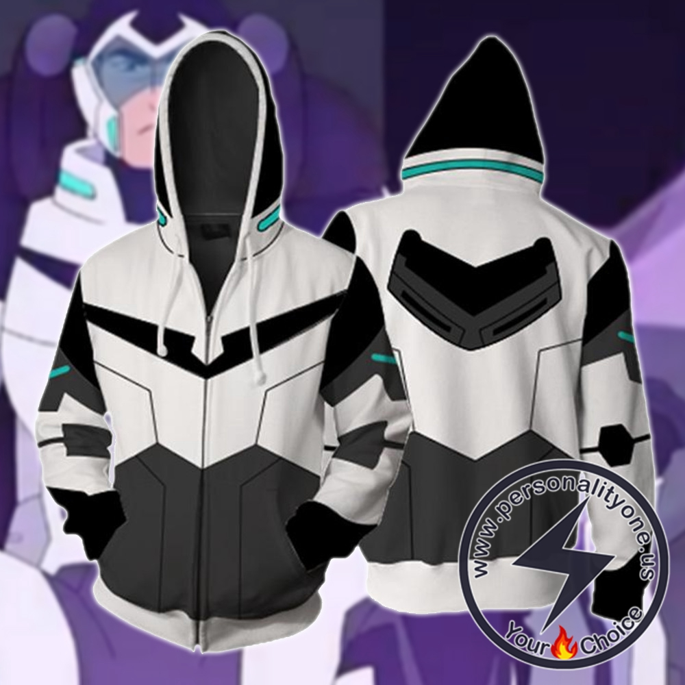 Shiro Voltron Legendary Defender Paladin Hoodie Jacket