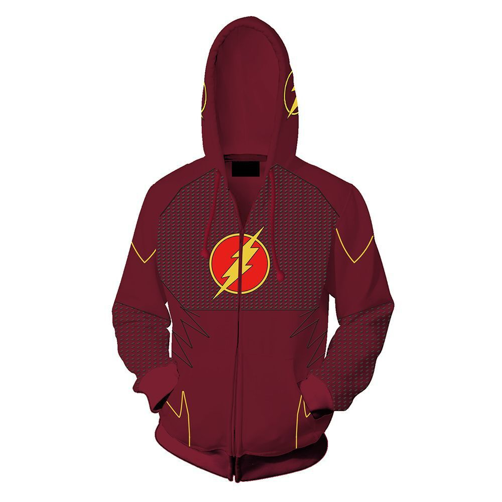 The Flash Hoodie - The Flash Zip Up Hoodie
