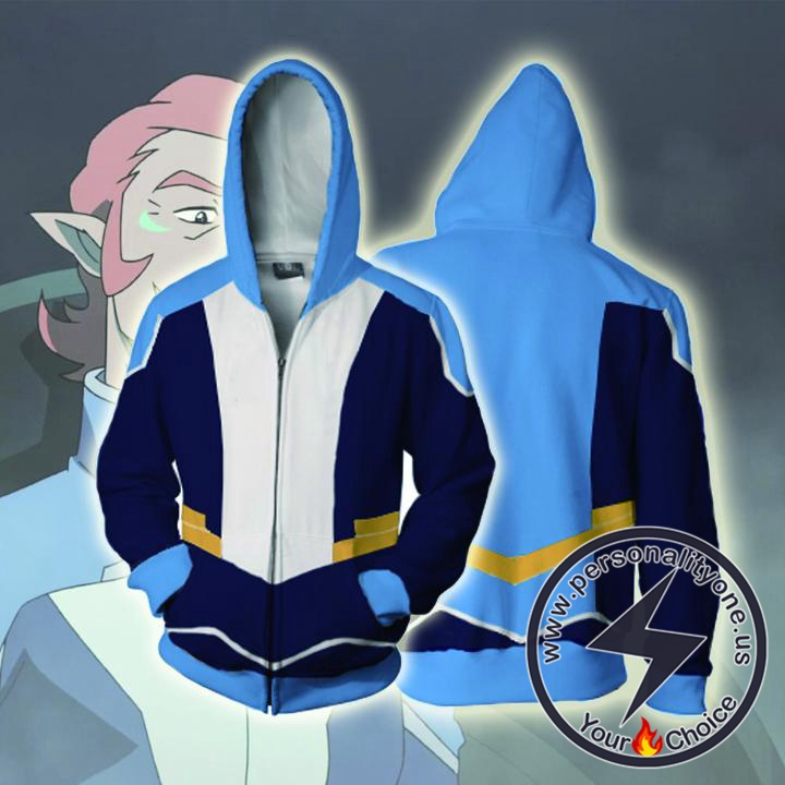 Voltron Legendary Defender Hoodies - Coran Zip Up Hoodie Jacket