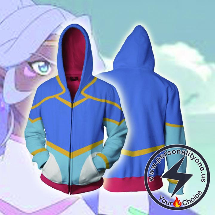 Voltron Legendary Defender Hoodies - Princess Allura Zip Up Hoodie Jacket