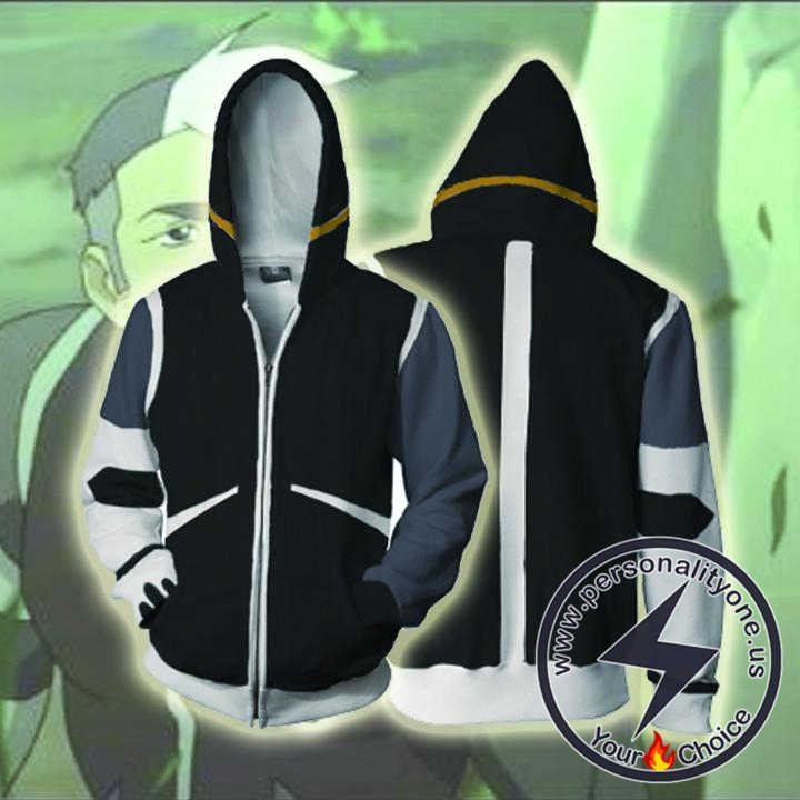 Voltron Legendary Defender Hoodies - Shiro Takashi Shirogane Zip Up Hoodie Jacket