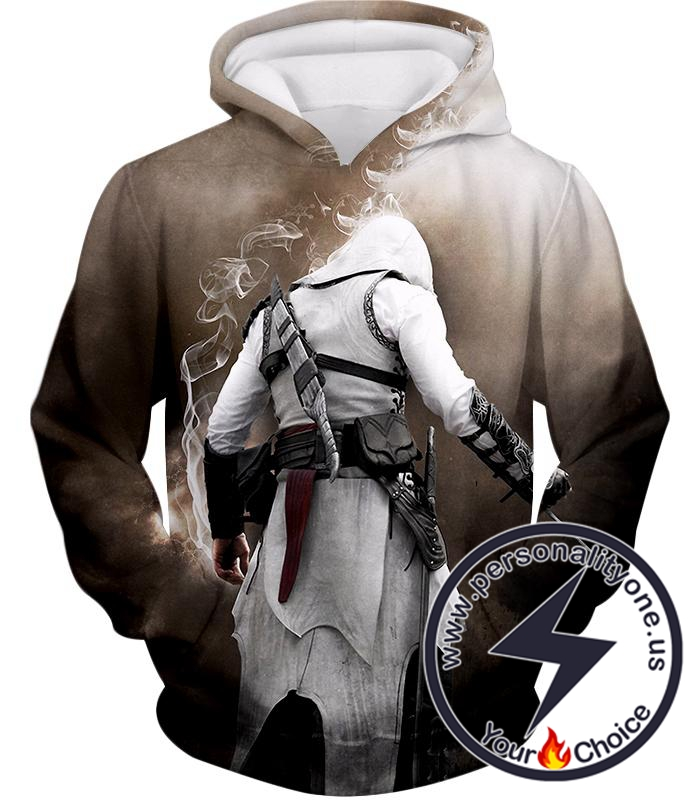 Assassins Legend Altair Ibn-LaAhad Cool Action Promo Hoodie