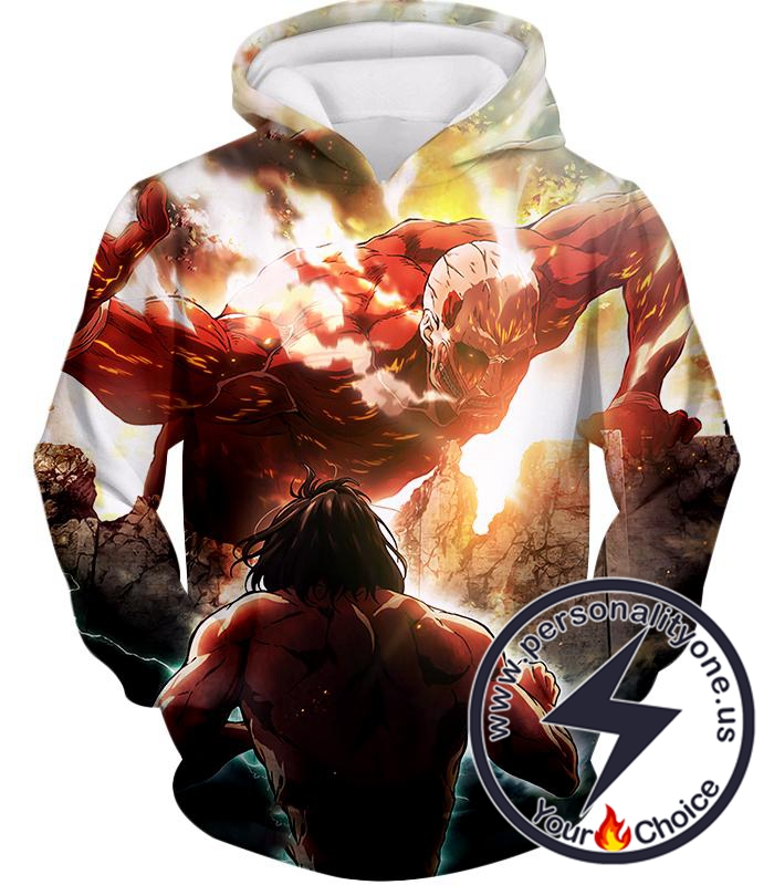Attack on Titan Cool Captain Levi Action Still Hoodie