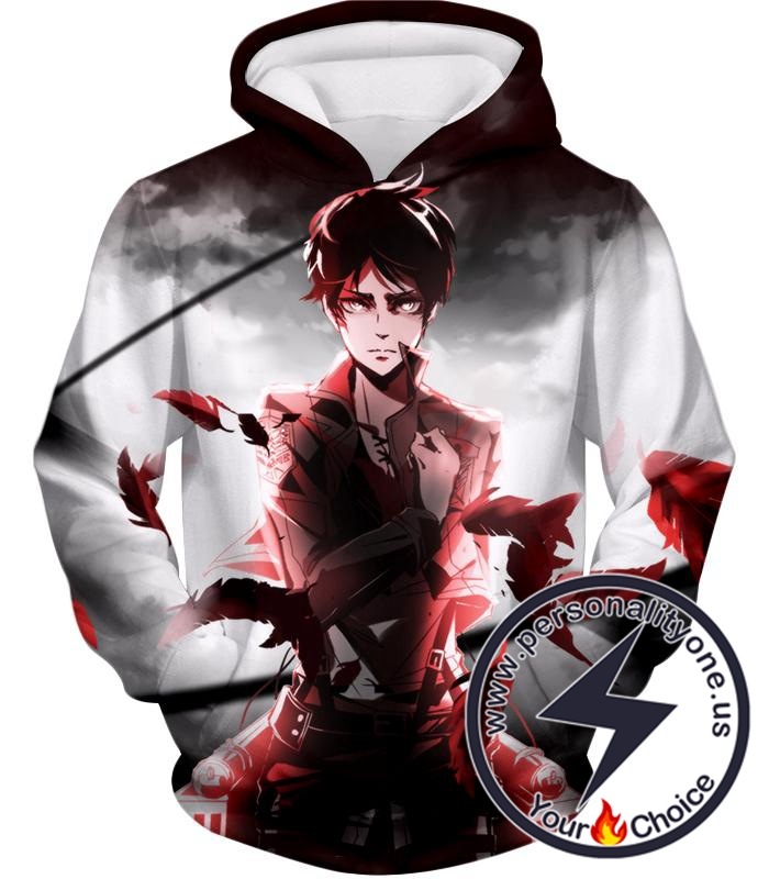 Attack on Titan Cool Survey Corps Soldier Eren Yeager Hoodie