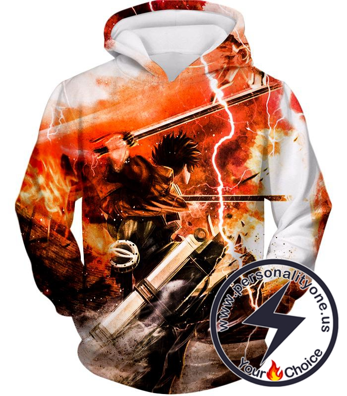 Attack on Titan Ultimate Attack on Titan Action Promo Cool Anime Graphic Hoodie