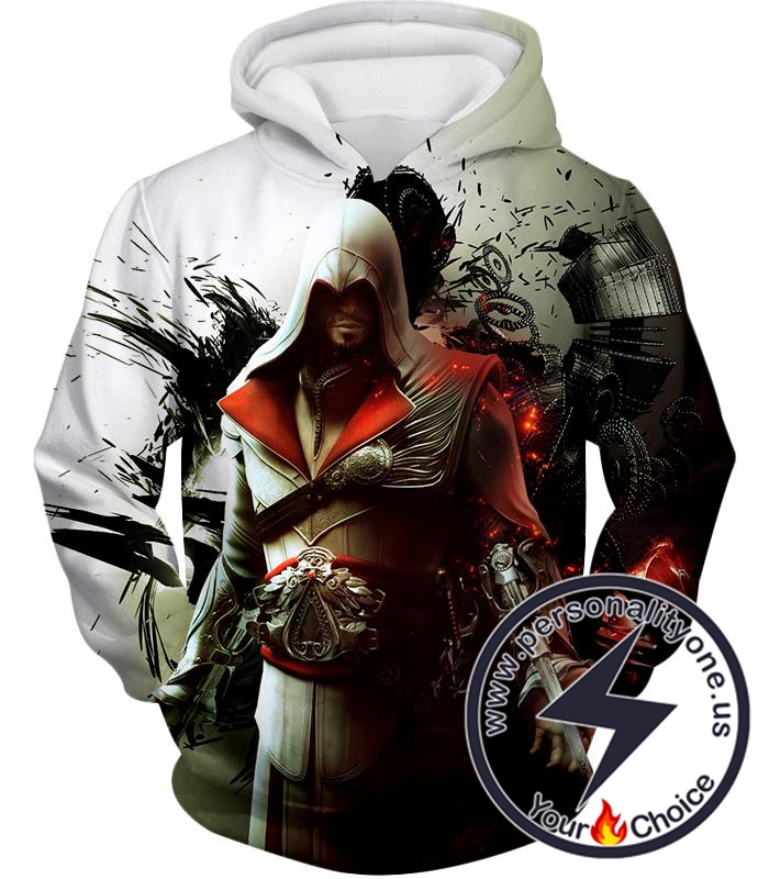 Awesome Assassin Ezio Firenze Super Cool Graphic Promo Hoodie