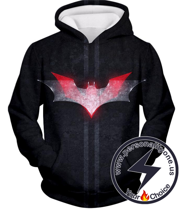 Batman Ultimate Logo 3D Best Class Black Hoodie