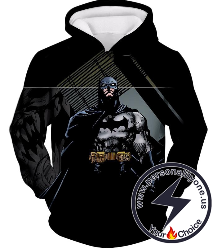 Batman the Animated Series Cool Graphic Promo Hoodie