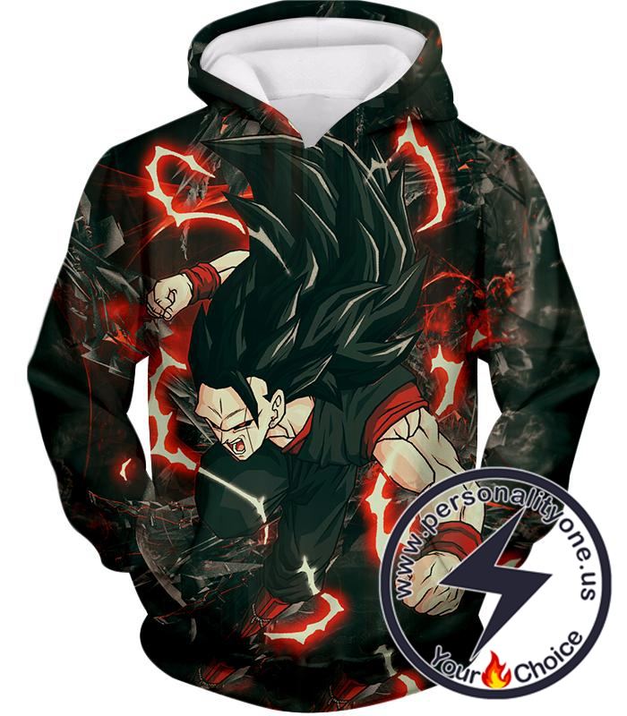 Dragon Ball Super Awesome Vegito Ultimate Super Saiyan 8 Mode Cool Action Hoodie