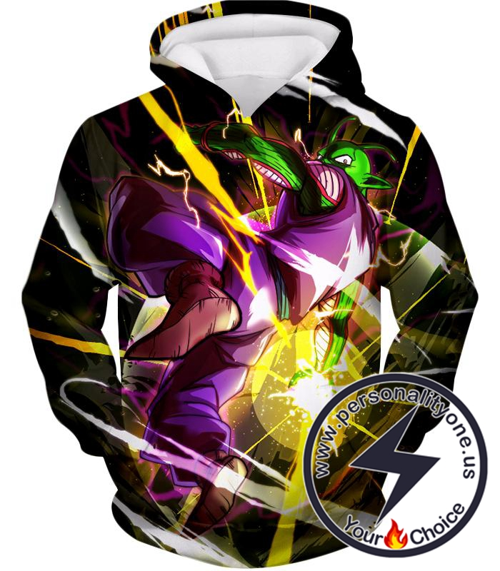 Dragon Ball Super Cool Hero Piccolo Action Awesome Anime Hoodie