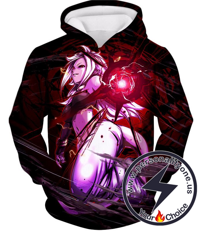 Dragon Ball Super Dragon Ball FighterZ Android 21 Awesome Graphic Action Hoodie