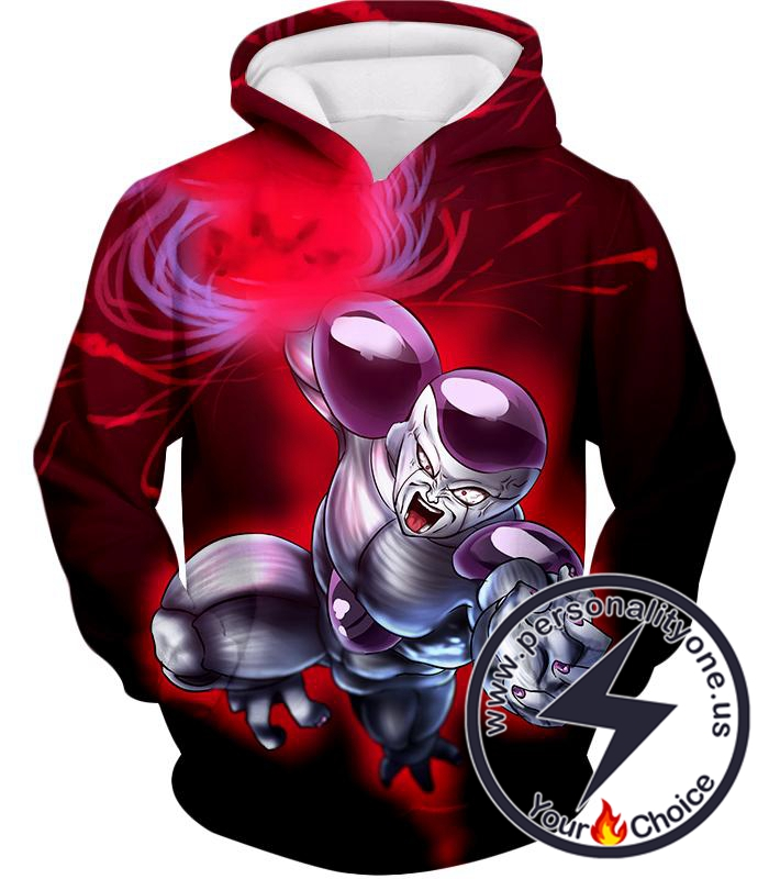 Dragon Ball Super Extremely Powerful Frieza Final Attack Action Promo Hoodie