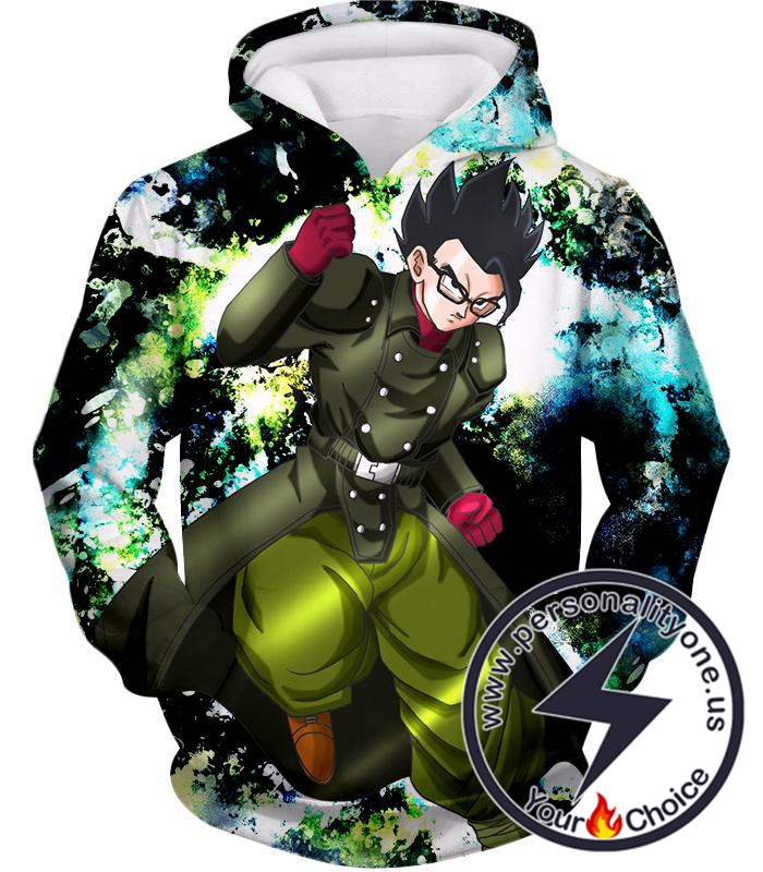 Dragon Ball Super Favourite Hero Gohan Cool Action Anime Graphic Hoodie