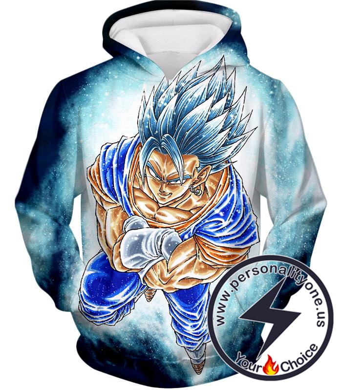 Dragon Ball Super Godly Form Super Saiyan Blue Vegito Cool Promo Hoodie