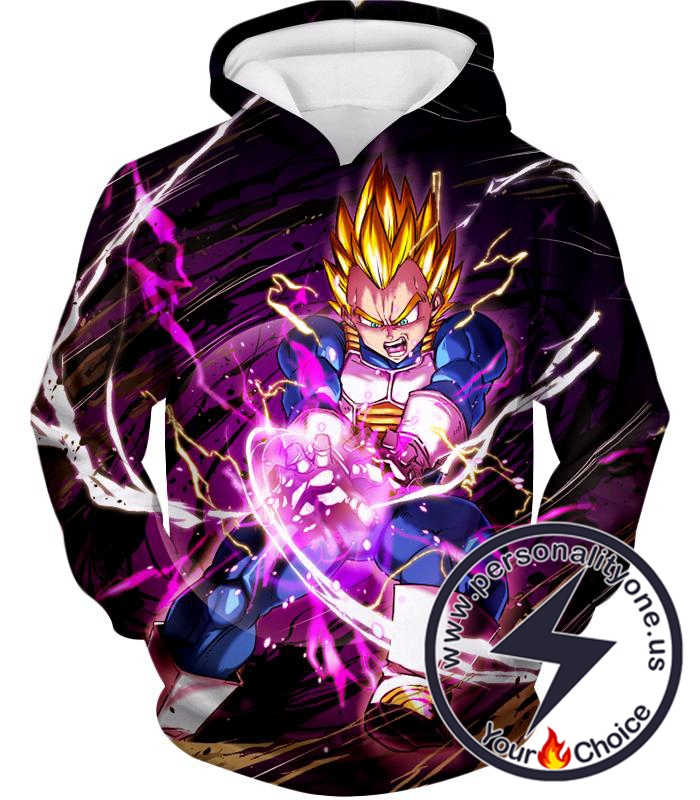 Dragon Ball Super Super Saiyan Warrior Prince Vegeta Ultimate Action Hoodie