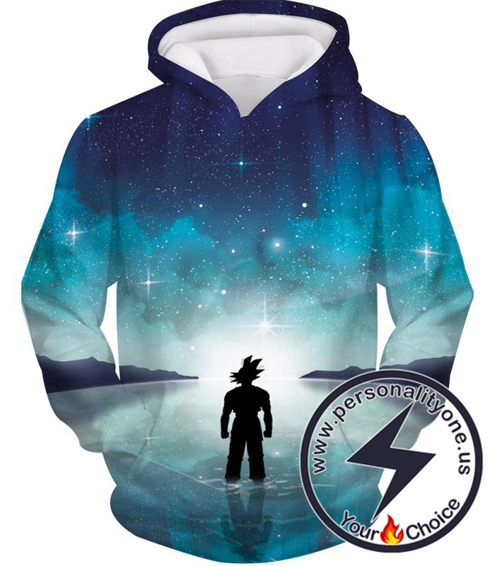 Dragon Ball Z Hoodie - Goku Training in The Lake