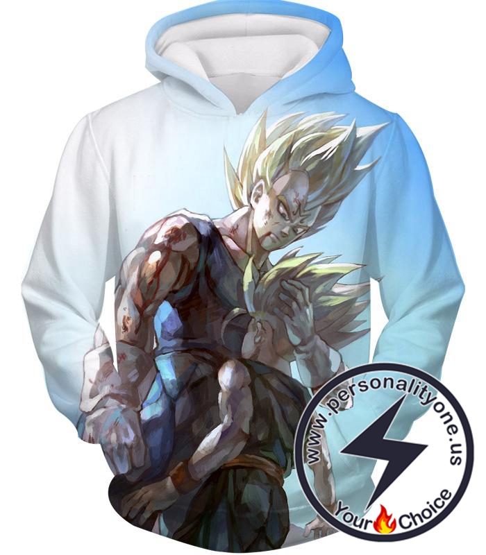 Dragon Ball Z Hoodie - Majin Vegeta And Trunks