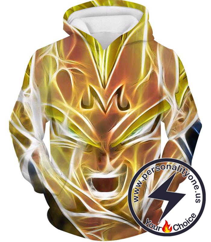 Dragon Ball Z Hoodie - Majin Vegeta Super Saiyan