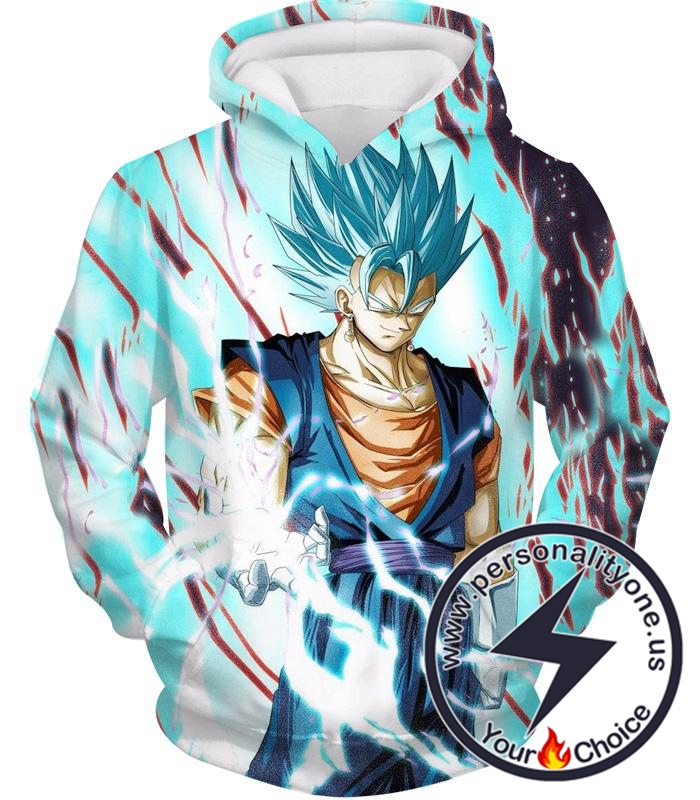 Dragon Ball Z Hoodie - Super Saiyan Blue Vegito Vegetto
