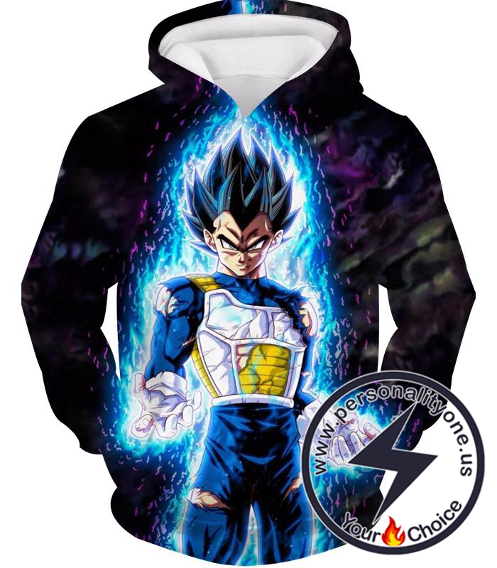 Dragon Ball Z Hoodie - Ultra Instincts Vegeta