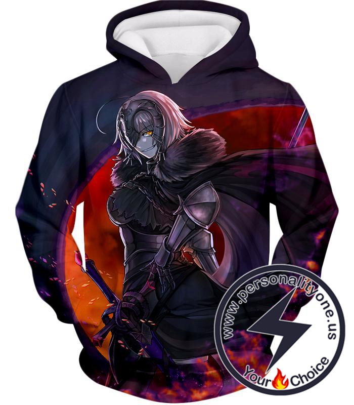 Fate Stay Night Fate Grand Order Ruler Jeanne Alter Avenger Hoodie