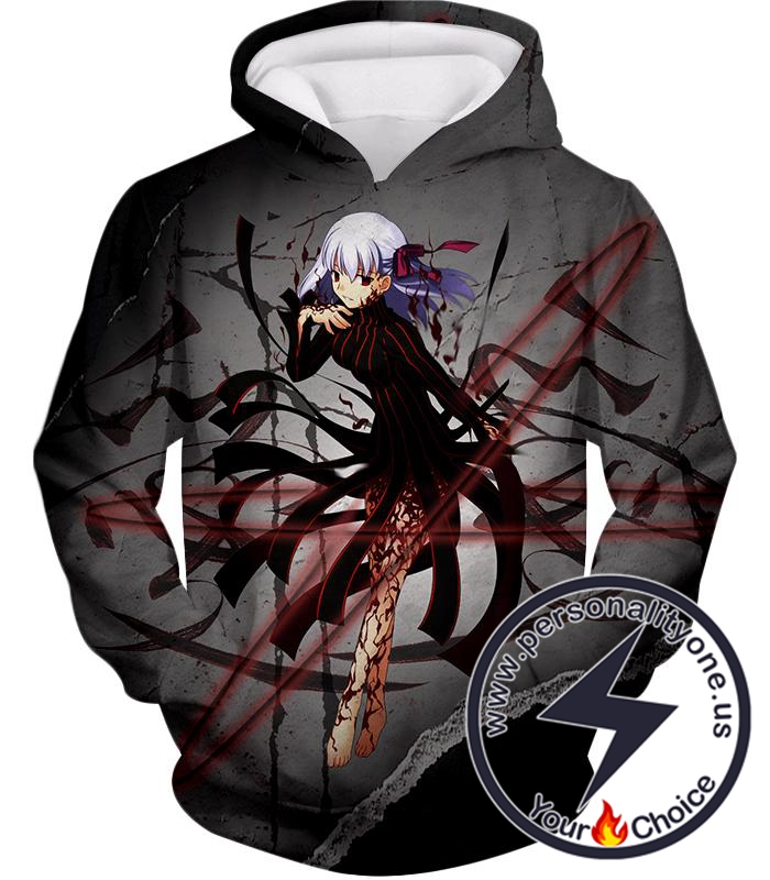 Fate Stay Night Fate Villain Dark Sakura Matou Action Hoodie