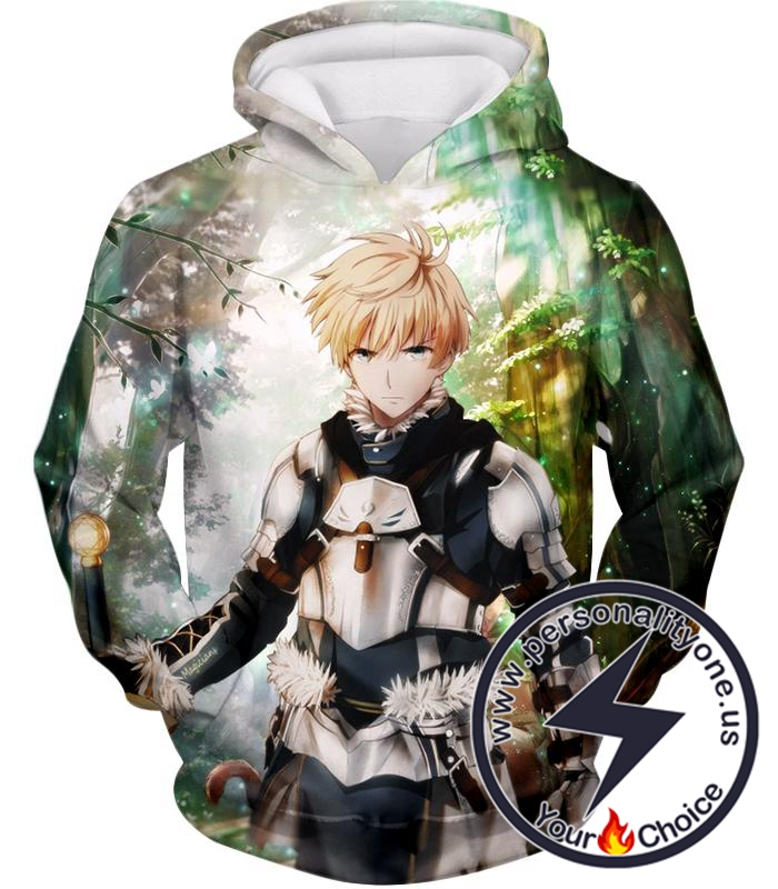 Fate Stay Night Saber Class Male King Arthur Awesome Hoodie