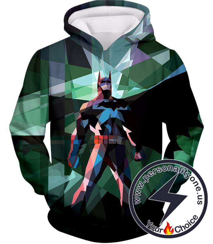 Fighting For Justice Ultimate Batman Cool Spotlight Finish Hoodie