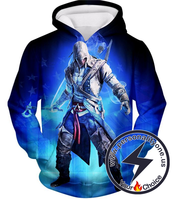 Incredible Assassin Ratonhnhake:ton Awesome Promo Hoodie