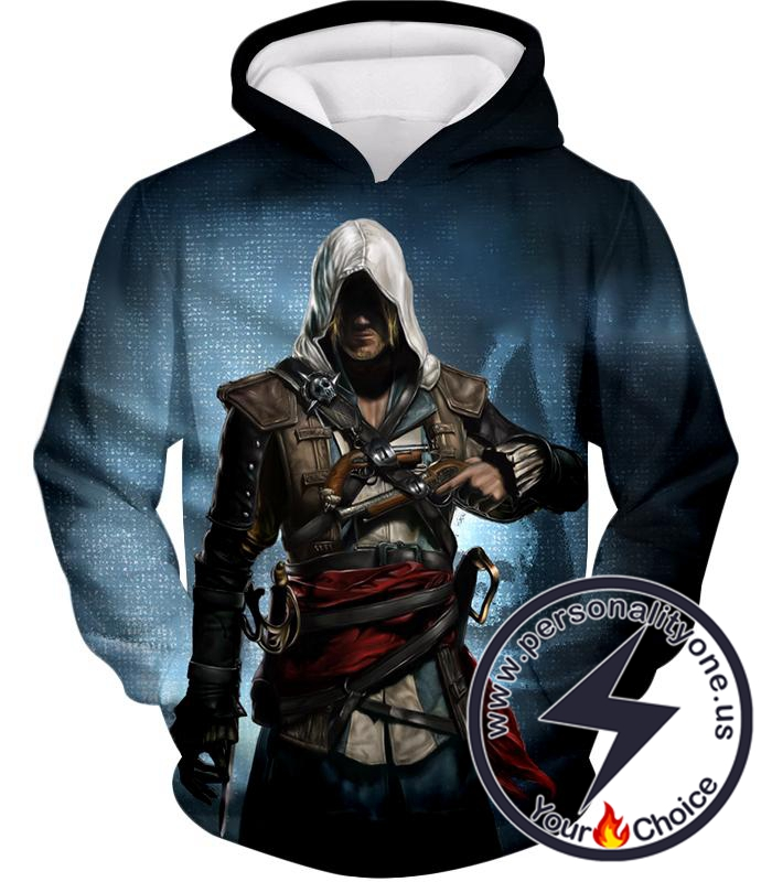 Incredible Hero Edward James Assassin's Creed Black Flag Promo Hoodie