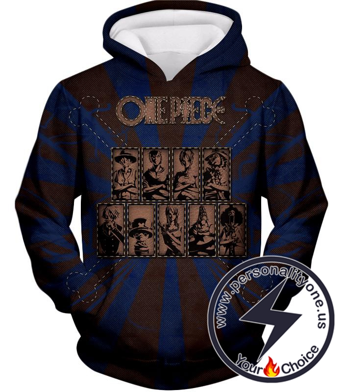 One Piece Cool One Piece Straw Hat Pirates Promo Hoodie