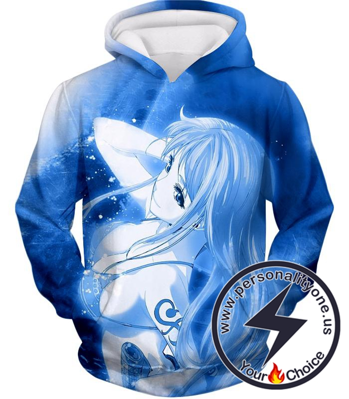 One Piece Sexy One Piece Pirate Nami of Straw Hats Cool Blue Hoodie