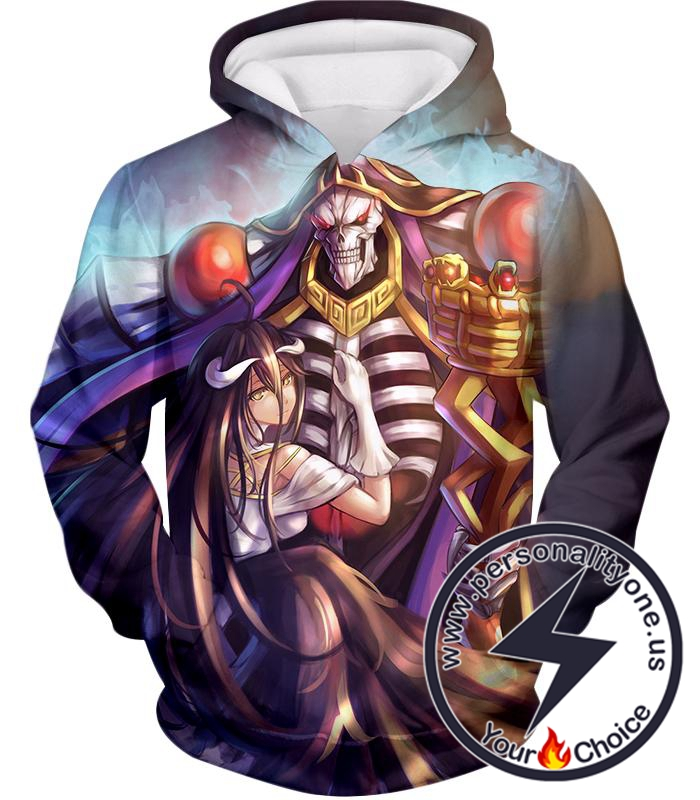 Overlord Ainz Ooal Gown Extremely Evil Sorcerer King Super Cool Anime Hoodie