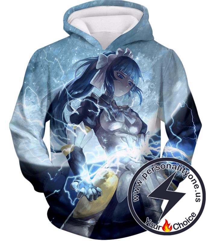 Overlord Egg Shaped Battle Maid Naberal Gamma Cool Action Hoodie