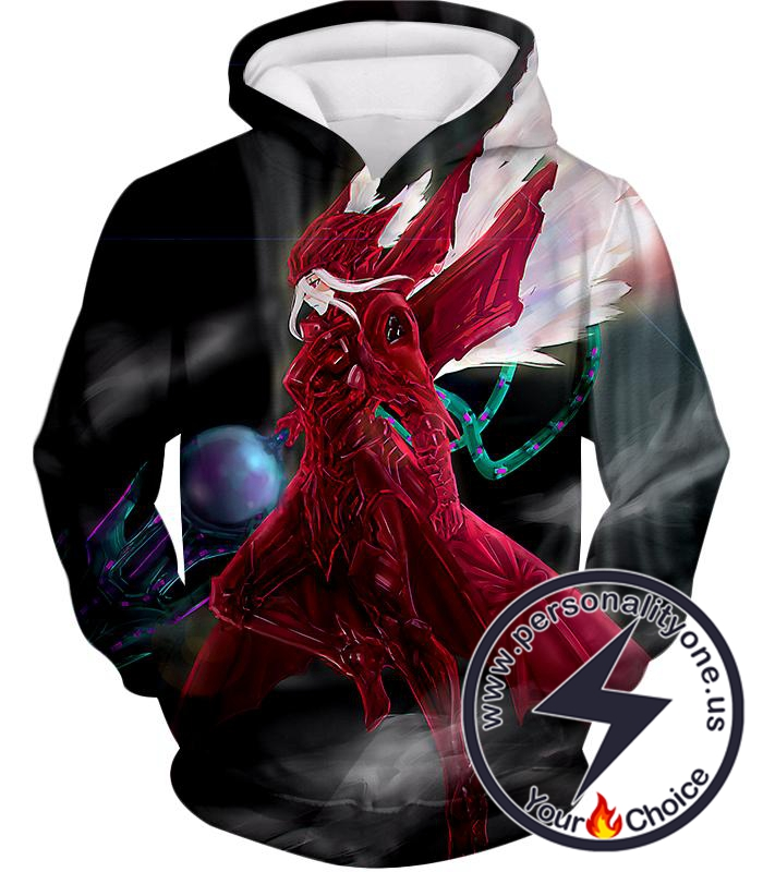 Overlord Super Cool Shalltear Bloodfallen Perfect Warrior Armor Awesome Anime Action Hoodie