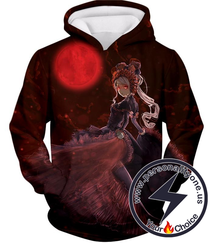 Overlord Three Floors Guardian True Vampire Shalltear Bloodfallen Cool Graphic Promo Hoodie