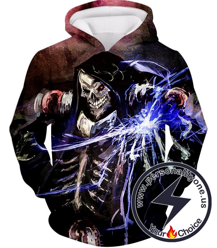 Overlord Ultimate Guild Master Ainz Ooal Gown Cool Action Promo Hoodie
