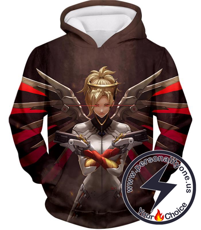 Overwatch Beautiful Team Support Mercy Hoodie